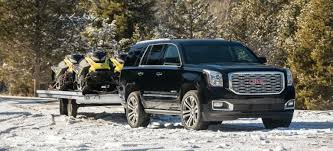 2007 Tahoe Towing Capacity Chart Towing Capacity Of 2018 Gmc Suvs