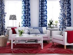 Red And Blue Living Room Decor Color Combination For Living Room Living Room Color Schemes Ideas