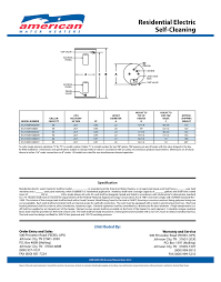 Lowboy Water Heater 50 Gallon American Water Heater 50 Gallon Short Standard Electric Water
