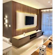 wooden wall mounted luxury tv units rs