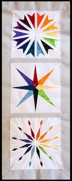 Paper pieced star pattern | Quilts | Pinterest | Rainbow star ... & Paper pieced star pattern Adamdwight.com