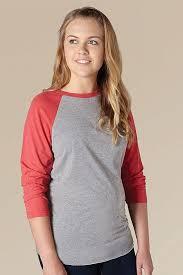 Tultex Size Chart Tultex 245 Unisex Raglan T Shirt Tultex