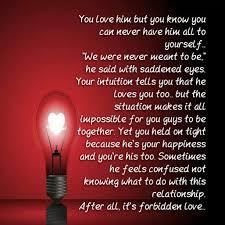 Forbidden Love Quotes Interesting Love Quotes Forbidden Love
