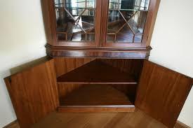 Top Dining Room Corner Hutch Corner Cabinet Dining Room - Dining room corner hutch