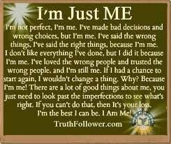 Myself Quotes Mesmerizing I'm Just ME Being Myself Quotes