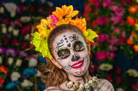sugar skull tutorial dia de los meurtos makeup in 7 simple steps