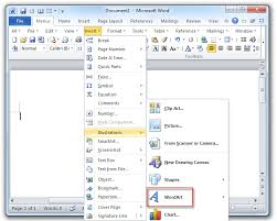 How To Get Word 2010 For Free Where Is The Wordart In Microsoft Word 2007 2010 2013