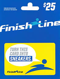 Finish Line Gift Card $25: Gift Cards - Amazon.com