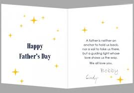 How To Create A Fathers Day Card In Ms Word 2016 Holidappy