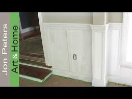 chair rail wainscoting. Contemporary Chair How To Install Chair Rail With Flat Panel Wainscoting With