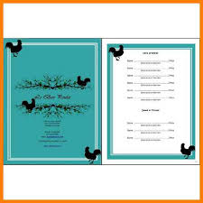french menu template 7 french menu template free trinity training