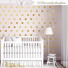 zoom gold polka dot wall decals australia dots nursery decor