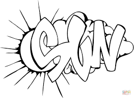 Small Picture Sun Graffiti coloring page Free Printable Coloring Pages