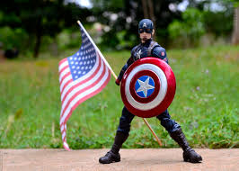 Captain America's 4th of July – Toy Photography Session – Figure Stop