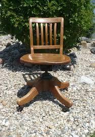 Wooden swivel desk chair Wheels Image Vladometrorg Vintage Office Chair Rolling Swivel Desk Chair By Krug Etsy