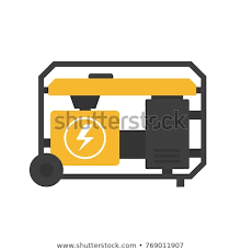 Power generator icon Electric Portable Power Generator Icon Clipart Image Isolated On White Background Alamy Portable Power Generator Icon Clipart Image Stock Vector royalty