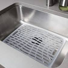 large sink mat