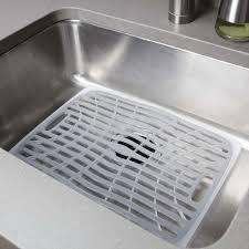 large sink mat