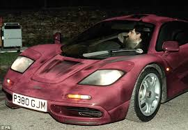 mclaren f1 inside. atkinson first purchased the car in 1997 he is pictured leaving prince charlesu0027 mclaren f1 inside