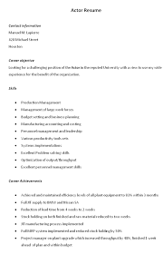Bartender Resume Example Template   learnhowtoloseweight.net
