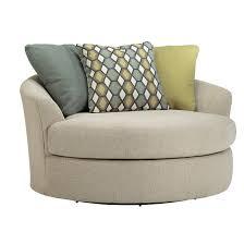 Round Swivel Chair Living Room Oversized Swivel Chair Roselawnlutheran