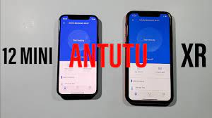 Iphone 12 Mini vs Iphone XR Antutu Benchmark Test - YouTube
