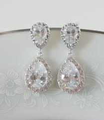 crystal bridal earrings wedding jewelry swarovski gold drop chandelier bar stud vintage engagement ring settings baby