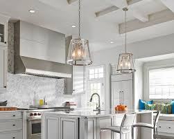 kitchen lighting trend. The Harrow Collection: Combining Traditional Profile Of A Tapered Shade With On-trend. Kitchen Lighting Trend