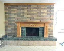 tile over brick fireplace tile over brick fireplace image