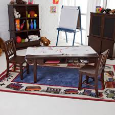 Classic Playtime Vanilla Deluxe Activity Table with Free Paper Roll |  Hayneedle
