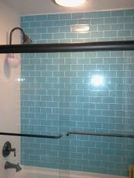 Glass Tile Bathrooms Loft Turquoise Polished 3 X 6 Glass Tiles Shop Glass Tiles At