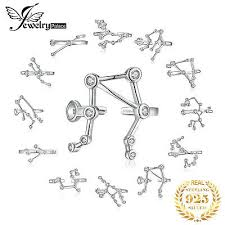 <b>JewelryPalace Zodiac</b> Cubic Zirconia Adjustable Open Ring <b>925</b> ...