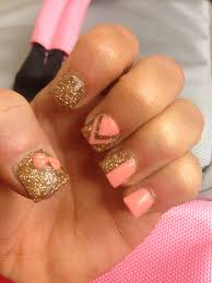 Girly Nail Designs For Short Nails 50 Acrylic Nail Designs Cute Nails Acrylic Nail Designs