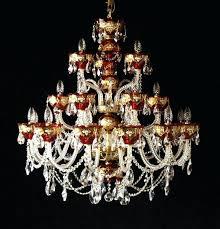 czech crystal chandeliers chandelier hand painting enamel antique czech crystal chandeliers