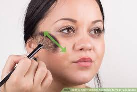 image led apply makeup according to your face shape step 21