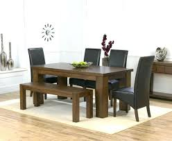 dining room sets with bench seating dining room sets with bench seat awesome dark wood dining