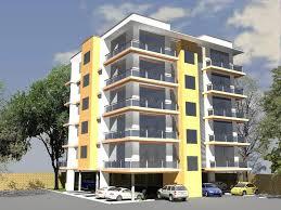 Colorful Apartment Exteriors Google Search Apartment - Modern apartment building facade