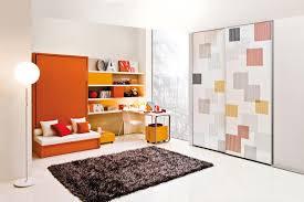geometric print closet doors Interior Design Ideas