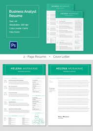 Business Analysis Templates Free High Quality Business Analyst Resume Cover Letter Template Free 12