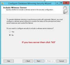 Database Mirroring |