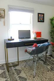 Home office small space Organize Tip World Market Style Tips For Small Home Office