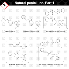 what is structural formula hemical structural formula of natural penicillins royalty free