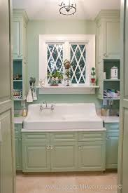 vintage 1920 s bathroom sink and cabinets renovation detail