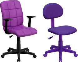 modern computer chairs. Printed Daisy Purple Computer Chair Modern Chairs