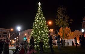 Napa Christmas Tree Lighting Napa Sets Holiday Season Alight With Tree Lighting Local