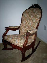 antique wooden rocking chair identification design ideas