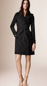 new burberry london heritage 2017 authentic kensington long black trench coat