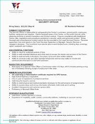 30 Resume For Police Officer With No Experience