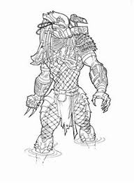 Small Picture Alien Vs Predator Coloring Pages 10 Free Printable Coloring
