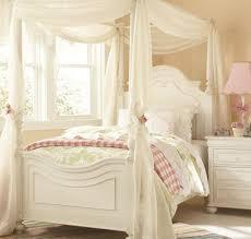 Tende camera da letto grigia letto a baldacchino dell'annata per ...